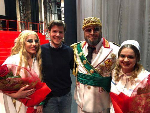 Mit Alessandro di Gloria, Yuri Vorobiev, Alexandra Grigoras
