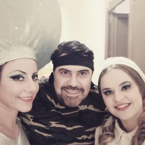 Mit Carlo Ventre und Alexandra Grigoras