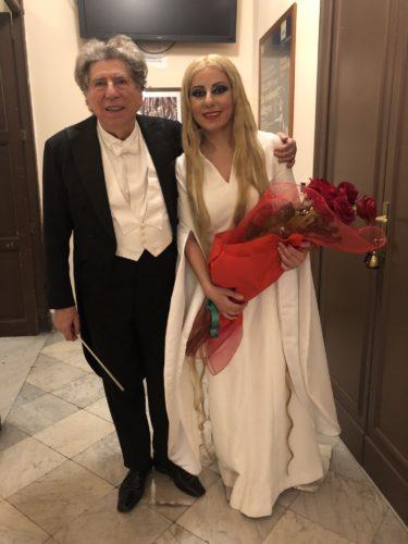 Mit Maestro Gabriele Ferro