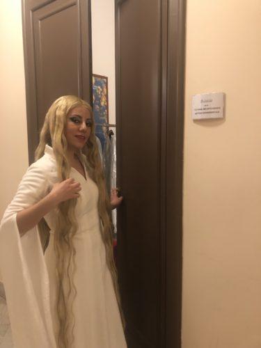 Blonde Meerjungfrau Turandot